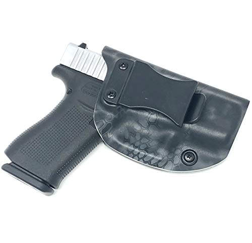 2A Holsters Glock 43X Holster IWB KYDEX (Choose Left or Right Hand)   Adjustable Cant   Made in USA   Free American Flag Face Mask ($14.95 Value)
