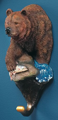 - Grizzly Bear Wall Hook
