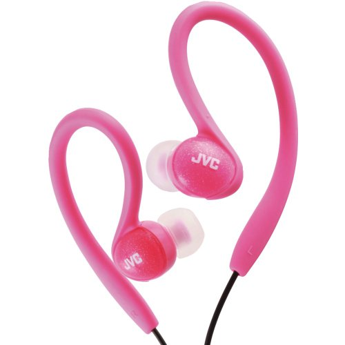 1 - Ladies' Sport Ear-Clip Headphones (Pink), Hooks over the ear for secure, gym-friendly use, 11mm neodymium driver, ()