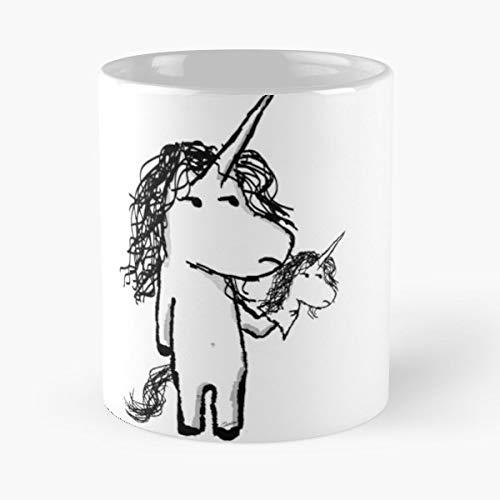 Muppets Mini - Unicorn Muppet Mini Funny Christmas Day Mug Gifts Ideas For Mom - Great Ceramic Coffee Tea Cup