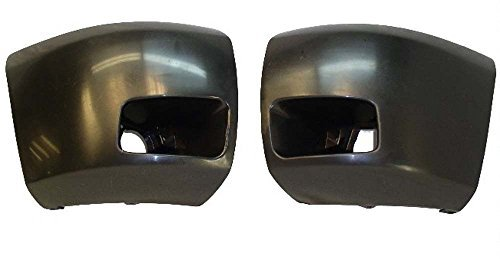 2007-2013 SILVERADO 1500 SIDE BUMPER CAP SET W/HOLE