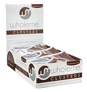 WholeMe Grain-Free Clusters (Cinnamon Banana Chip) 12-Count, 1.5oz Snack Packs, Paleo & Gluten-Free