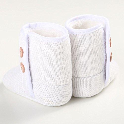 Moresave - botas de nieve Bebé-Niños Weiß