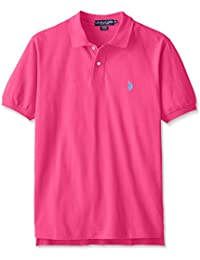 U.S. Polo Assn. Men's Solid Polo Shirt With Small Pony Logo