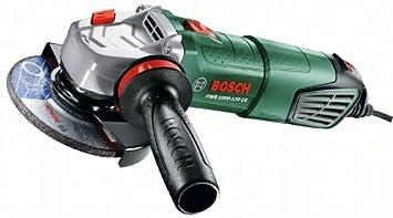 Bosch 06033A2600 Amoladora, 240 V, Negro, Verde, 1000 W, Ø 125 mm Ø125 mm 0.603.3A2.600