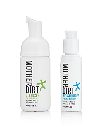 Mother Dirt Biome-Friendly Cleanser and Moisturizer Combination Pack