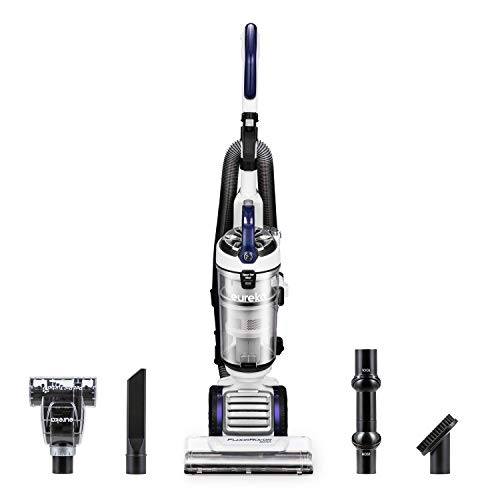 Eureka NEU522 FloorRover Dash Upright Pet Vacuum Cleaner, HEPA Filter, Swivel Steering for Carpet and Hard Floor, Bagless, Deep Ocean (Renewed)