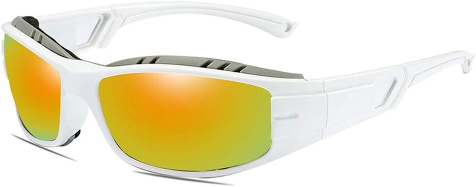 Gafas De Sol De La Motocicleta, con Protección UV Polarizados Deportes Gafas De Sol Máscaras Gafas TAC Hombres Mujeres Al Aire Libre Ciclismo Conducción Pesca,6