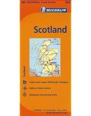 Michelin Great Britain: Scotland / Grande Bretagne: Ecosse Map 501