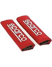 Sparco SPC1204RD Almohadilla, Rojo, Set de 2