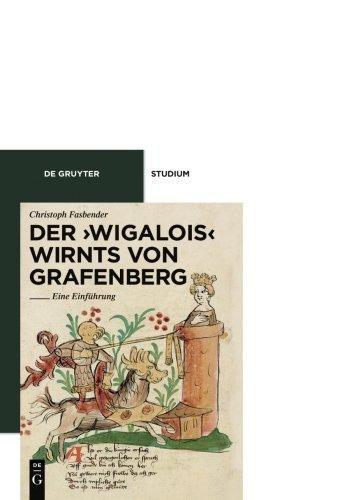 Der 'Wigalois' Wirnts von Grafenberg: Eine Einführung (De Gruyter Studium) Taschenbuch – 29. Januar 2010 Christoph Fasbender 311019659X LIT011000 LITERARY CRITICISM / Medieval