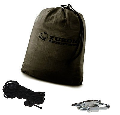 Yukon Outfitters XL Mosquito Hammock (Green) - Camping ...