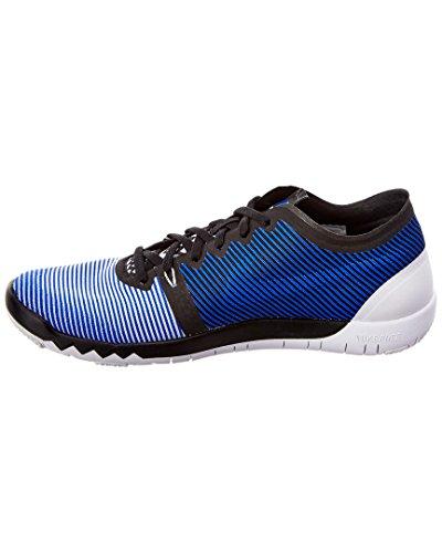 Uomo Scarpe Trainer Fitness Racer 0 Blue 3 NikeFree V4 White Black nOqdYIOw