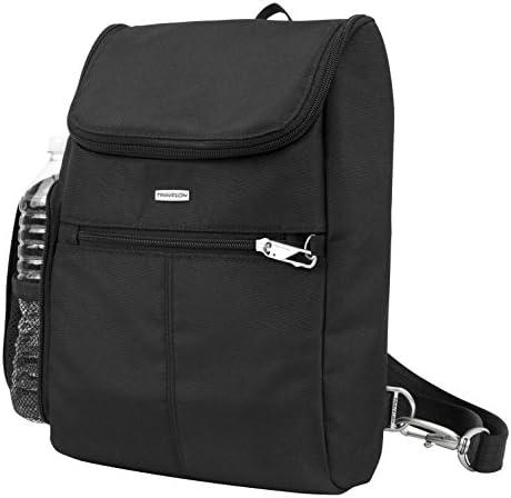 Anti Theft Classic Crossbody Bucket Bag Style# 42757