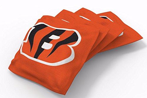 PROLINE 6x6 NFL Cincinnati Bengals Cornhole Bean Bags - Solid Design ()