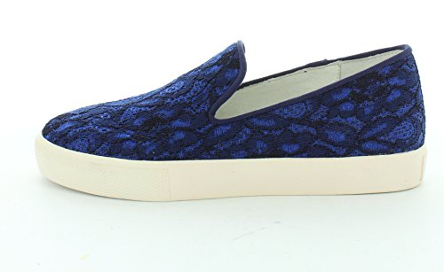 Sneakers Da Donna In Frassino Con Illusione Su Sneakers Indaco