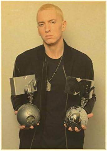 Diamond Painting 5D DIY cross stitch kits for adults 40X50cm Rapper Eminem Kamikaze Vintage Poster Home Decoration
