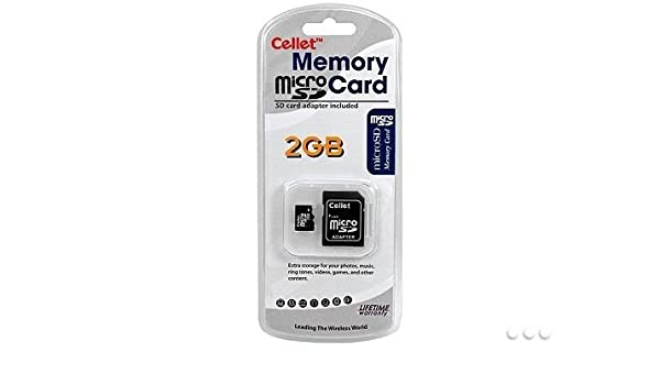 Amazon com: Cellet 2GB MicroSD for Micromax X220 Smartphone