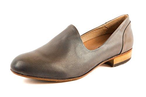 Neosens - Mocasines de Piel Lisa para mujer gris gris 37
