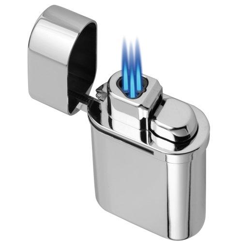 Vector Thundra Desktop Lighter Hi-Polish Chrome