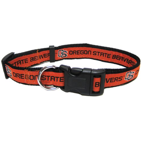 Mirage Pet Products Oregon State Beavers Collar for Dogs and Cats, Large