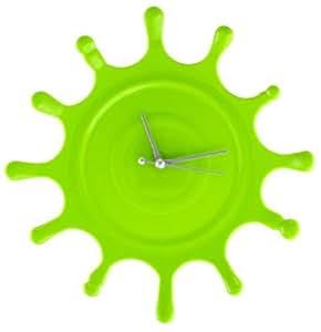 Wall Clock - Splat Clox Green