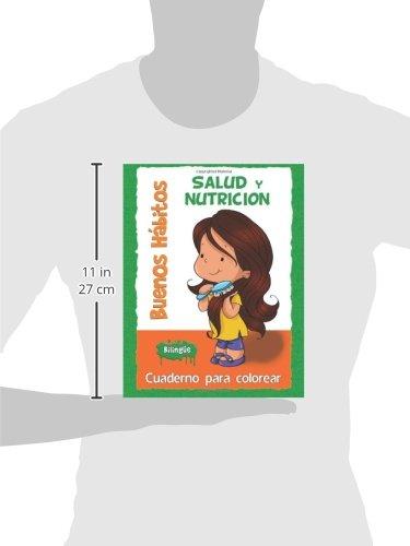 Buenos Hábitos - Cuaderno para colorear: Salud y Nutrición: Amazon ...