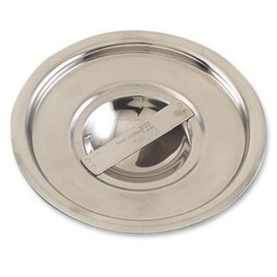 (Browne-Halco CBMP1 Stainless Steel Bain Marie Pot Cover, 5-Inch)