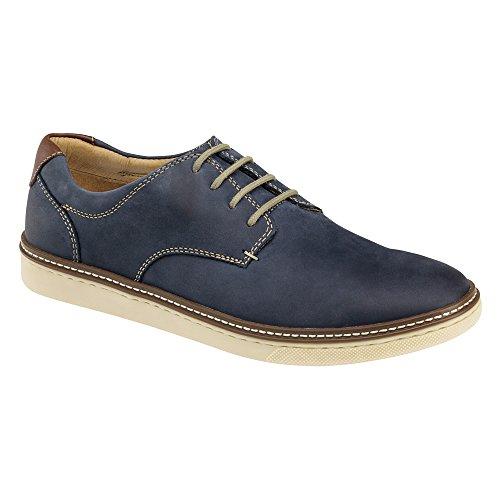 Johnston & Murphy Men's McGuffey Casual Plain Toe Sneaker Navy Nubuck 11