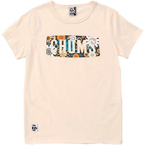 CHUMS(チャムス) ボタニカルフラワーロゴTシャツ女性用 CH111218