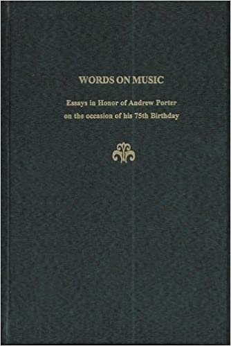 Examples Of An Essay Paper Words On Music Essays In Honor Of Andrew Porter Festschrift Series No   David Rosen Claire Brook Andrew Porter  Amazoncom  Books Can Someone Do My Assignments also Private High School Admission Essay Examples Words On Music Essays In Honor Of Andrew Porter Festschrift Series  Persuasive Essay Samples For High School