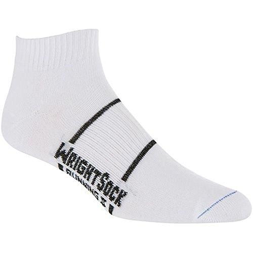 Wrightsock Mens Dri-Wright Running II Quarter Size Extra Large Socks