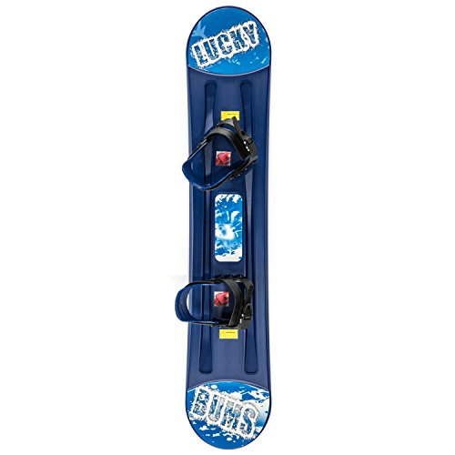 Lucky Bums Kids Plastic Snowboard