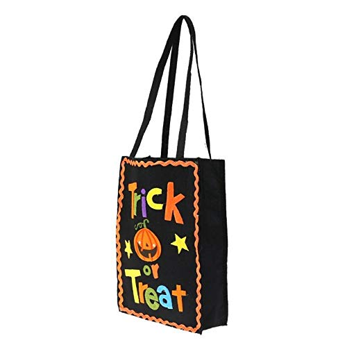 (Supply Bag - Non Woven Halloween Pumpkin Gift Candy Bag Festival Doractive Pouch Handbag Handle Tote Packaging - Medical Set Cute Organizer Diabetes For Men Art Large)