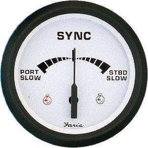 Series Speedometer Instrument (New Euro White Series faria Instruments 32909 4