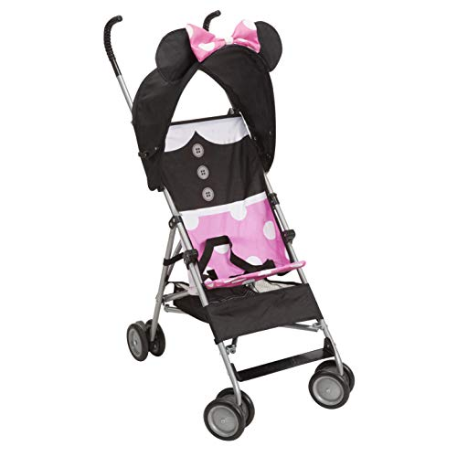 Disney Baby Comfort Height Character Umbrella Stroller with Basket, Minnie Dress up by Unknown