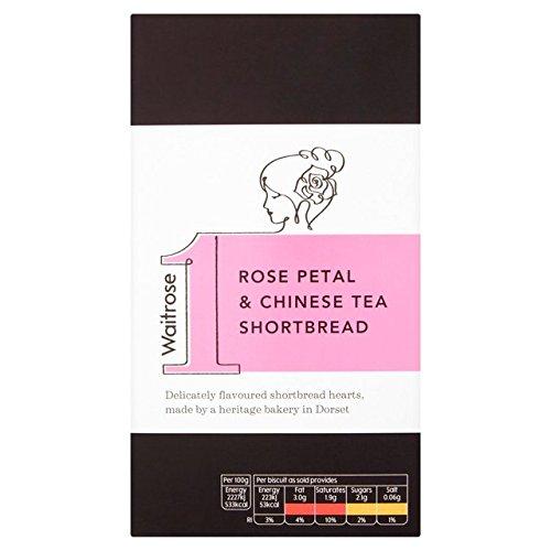 Waitrose 1 Rose Petal & Chinese Tea Shortbread 135g