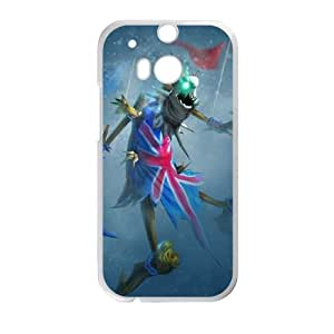 HTC One M8 Cell Phone Case White League of Legends Union Jack Fiddlesticks KWI8879323KSL