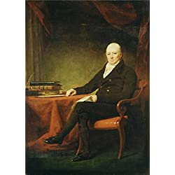High Quality Polyster Canvas ,the Beautiful Art Decorative Canvas Prints Of Oil Painting 'Sir Henry Raeburn - Alexander Allan, C. 1815', 16x23 Inch / 41x57 Cm Is Best For Game Room Artwork And Home Gallery Art And Gifts