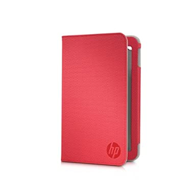 HP Slate7 Folio Case, Red (E3F48AA)