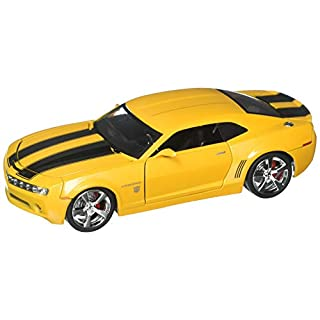 Jada 99382-MJ Die Cast Car, Yellow with Black Stripes