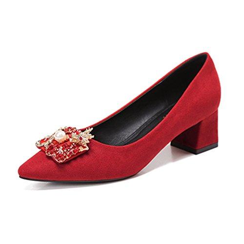 o Primavera Mujer De HXVU56546 Y Altos Zapatos Oto Perforaci Tacones Y wtpddqCf