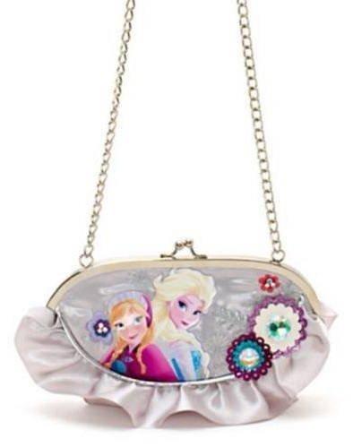 Disney Store authentisch- Die Eiskönigin - völlig unverfroren - Handtasche für Kinder - Gedrucktes Motiv von Anna und Elsa