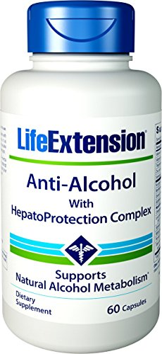 (Life Extension Anti-Alcohol with HepatoProtection Complex, 60)