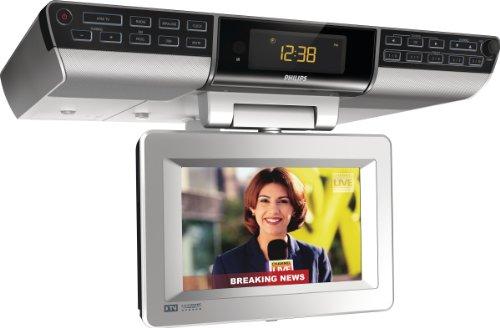 Philips 7-Inch Digital TV Clock Radio AJL750/37