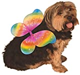 Rubie's Pet Rainbow Costume Wings, Medium to Large