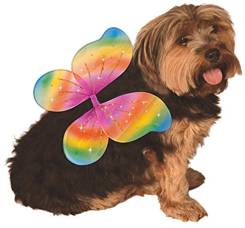 (Rubie's Pet Rainbow Costume Wings, Medium to)