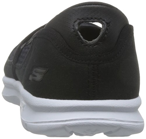 cordones mujer Skechers Zapatillas Negro para Step 47431 sin Go pxHwTqIF