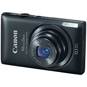 Set A Shopping Price Drop Alert For Canon PowerShot ELPH 300 HS 12.1 MP Digital Camera (Black)