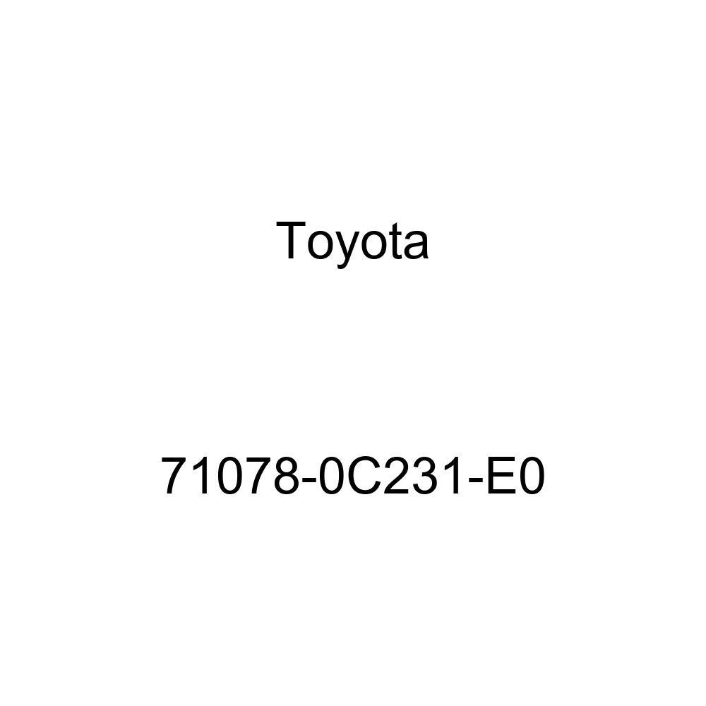 TOYOTA Genuine 71078-0C231-E0 Seat Back Cover